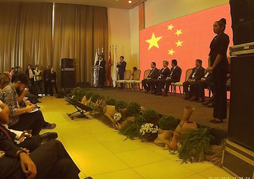 Evento porto São Luís - Interpretação em Chinês Port of São Luis launching of Milestone event. | Interpreting in Chinese language São Luís-MA