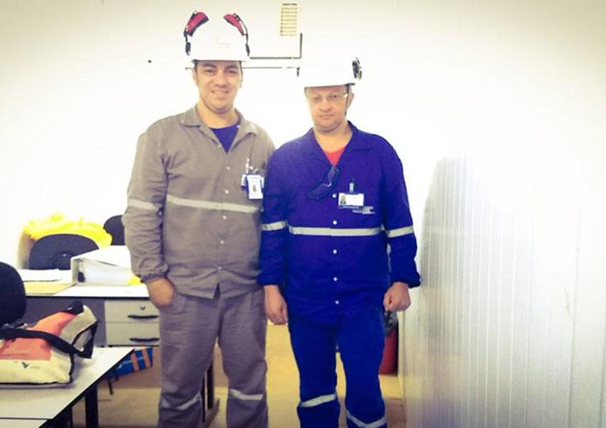 Equipe de tradutores da Business Solutions a serviço da Equinox Gold e Ausenco, na planta de mineração da AURIZONA, em Godofredo Viana- Ma- 2019 | Our team of technical interpreters working for Equinox Gold and Ausenco at AURIZONA mining plant in Godofredo Viana- Ma- 2019 ongoing.