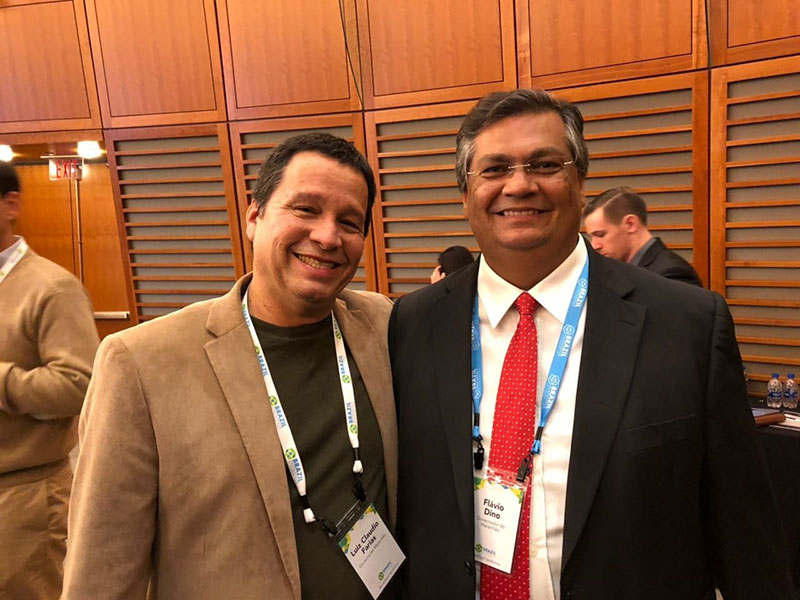 Palestra do governador do Maranhão na universidade de Harvard e no MIT. | Lecture by Governor of Maranhão Flávio Dino in Harvad University and MIT